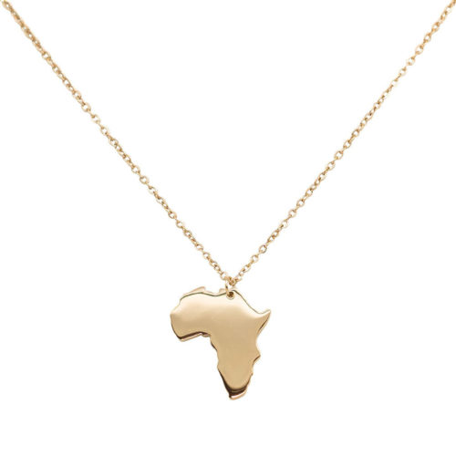 #AFRICA NECKLACE ROSE GOLD