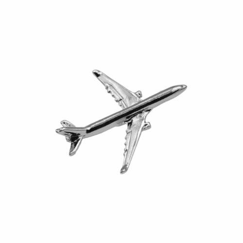 AIRBUS A330 PIN SILVER
