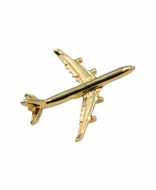 AIRBUS A340 PIN GOLD