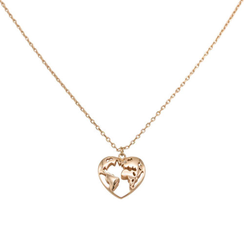 #WANDERLUST NECKLACE ROSE GOLD