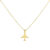 #JETLINER NECKLACE GOLD