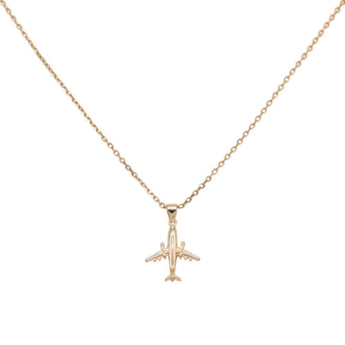 #JETLINER NECKLACE ROSE GOLD