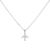 #JETLINER NECKLACE SILVER
