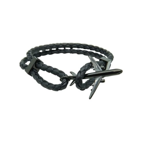 #GO-AROUND BRACELET BLACK