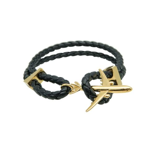 #GO-AROUND BRACELET GOLD