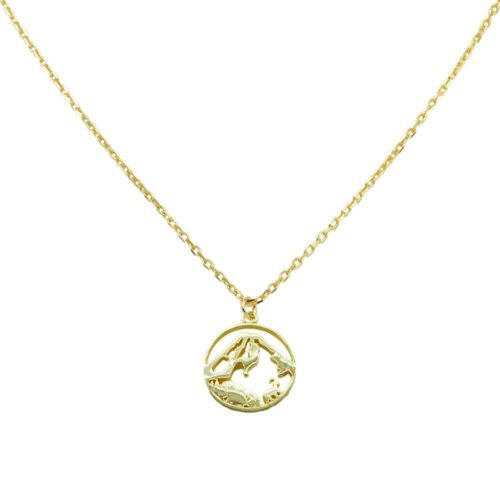 #GROSSGLOCKNER NECKLACE GOLD