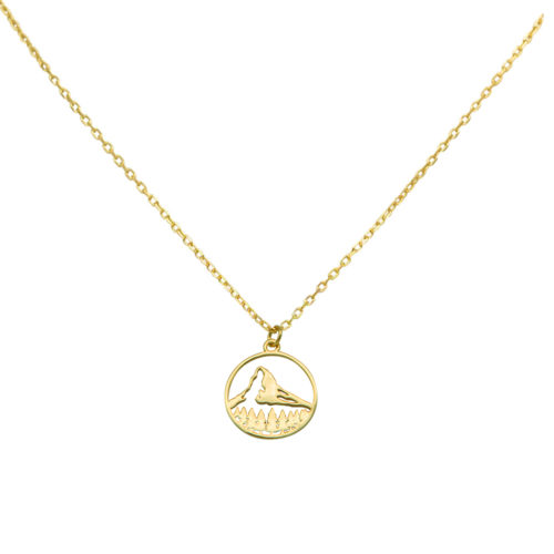 #MATTERHORN NECKLACE GOLD